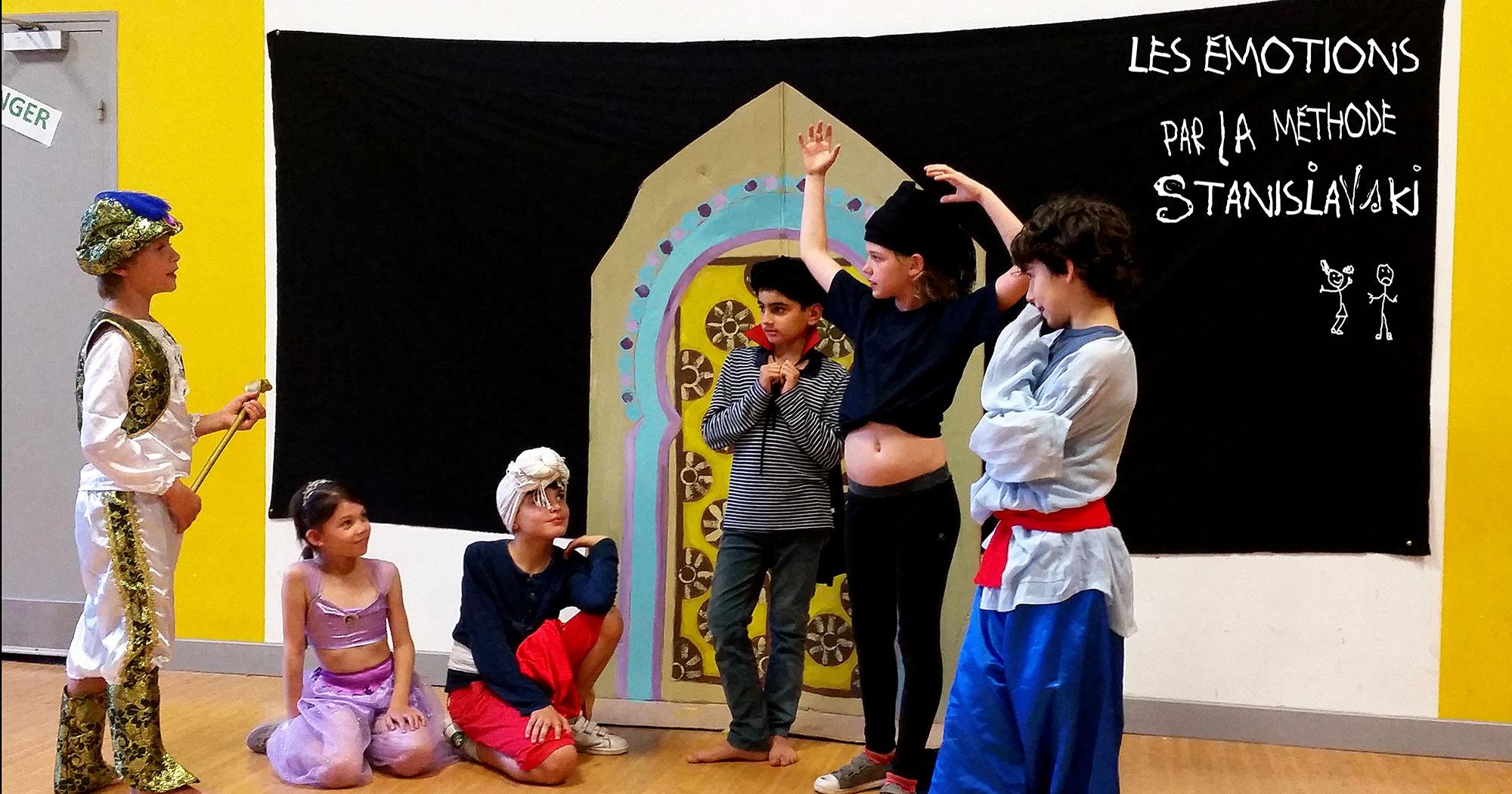 Spectacle Aladdin 2018 - CE1 CE2 - Ecole St Victor