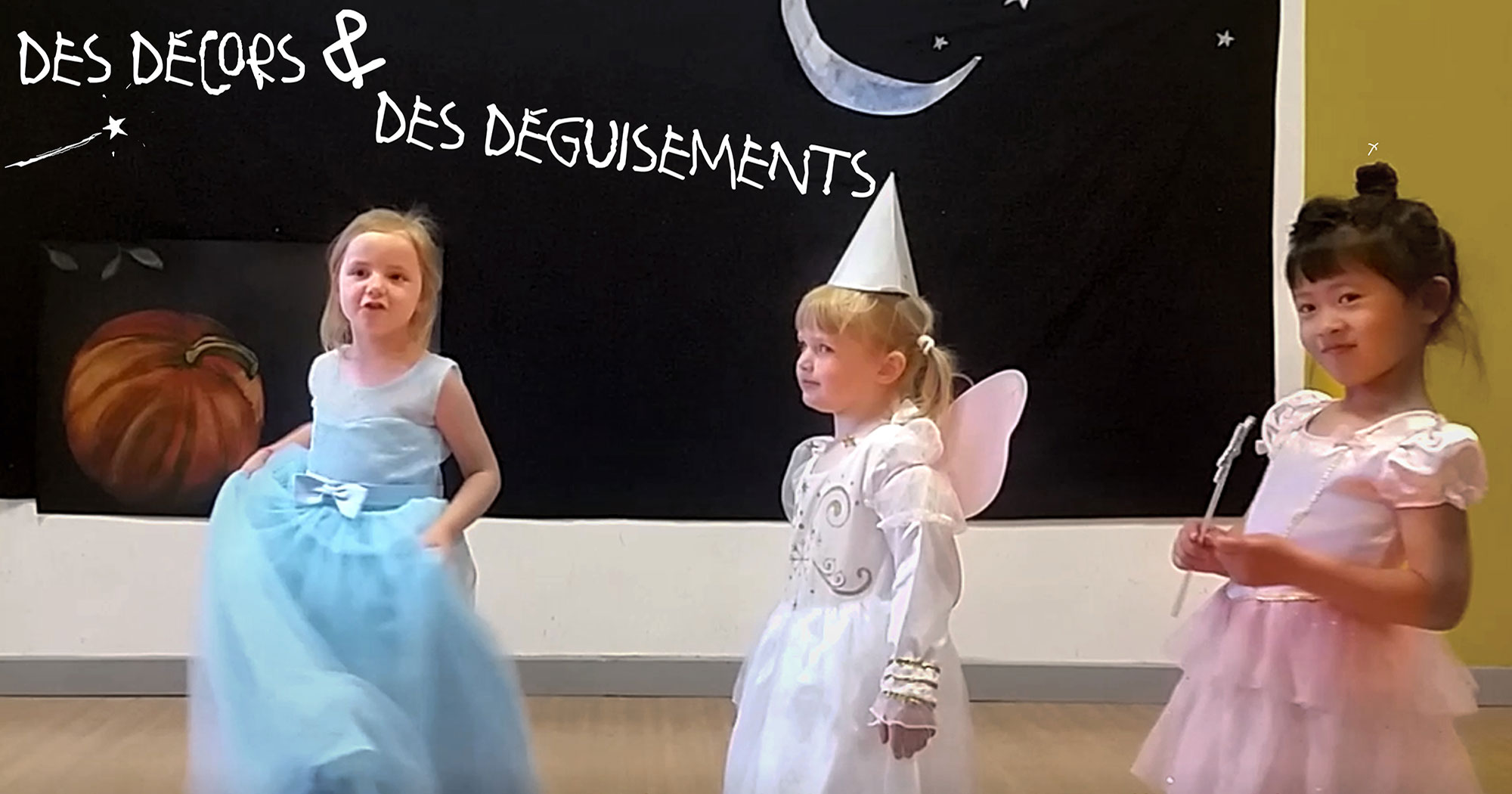 Spectacle Cendrillon 2018 - Maternelles - Ecole St Victor